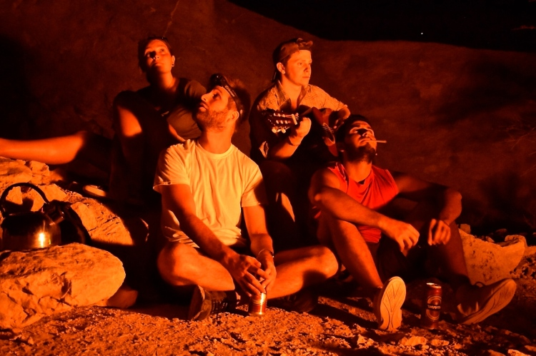 Desert Bonfires