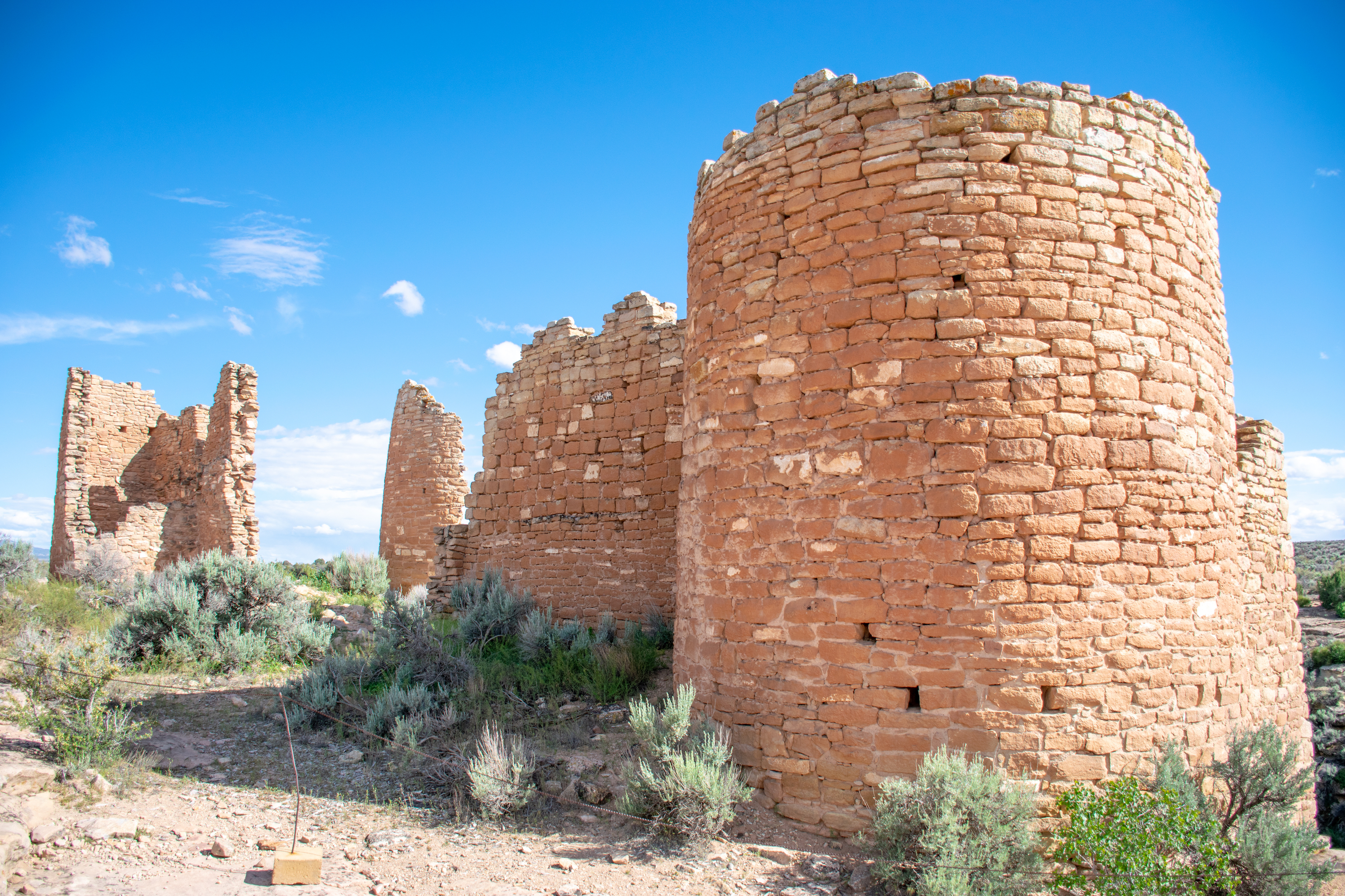 Hovenweep Castle Ruins at Hovenweep National Monument