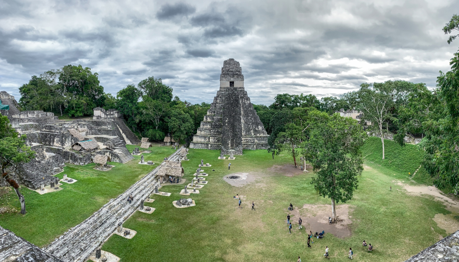 Temple I and acropolis at Tikal